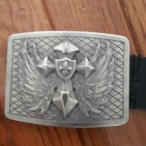 Men's belts with buckle (lot of 3)
